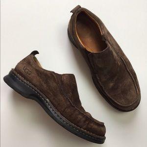 UGG Slip-on Leather Loafers